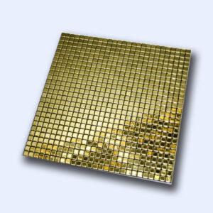 تایل آلمینیوم طلایی 30 سانتی کد 12320