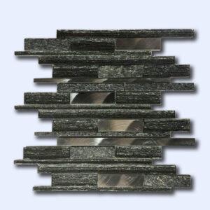 کاشی طرح سنگ مشکی 30 سانتی کد 16004