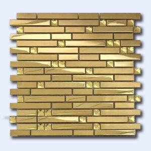 کاشی میکس طلایی 30 سانتی کد 17162